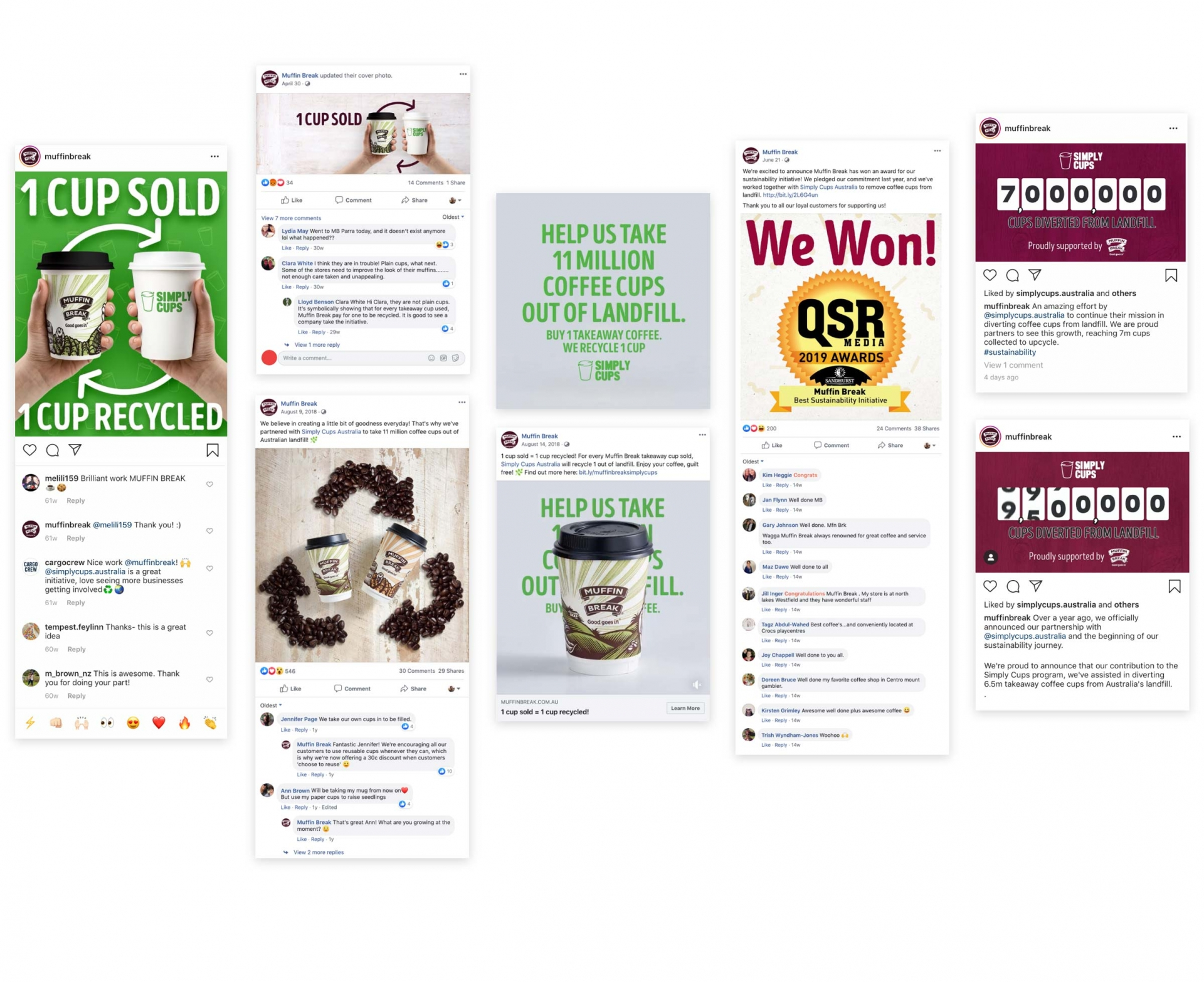 How We Helped Muffin Break Run An Award-Winning Campaign