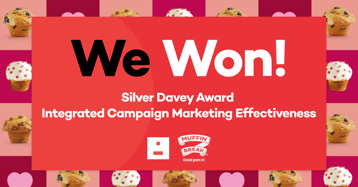 Our $2 Muffin Day campaign wins a silver Davey!