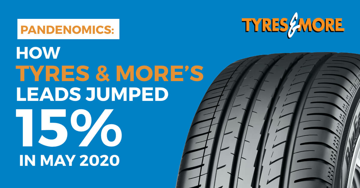 Pandenomics: How Tyres & More's Leads Jumped 15% in May 2020