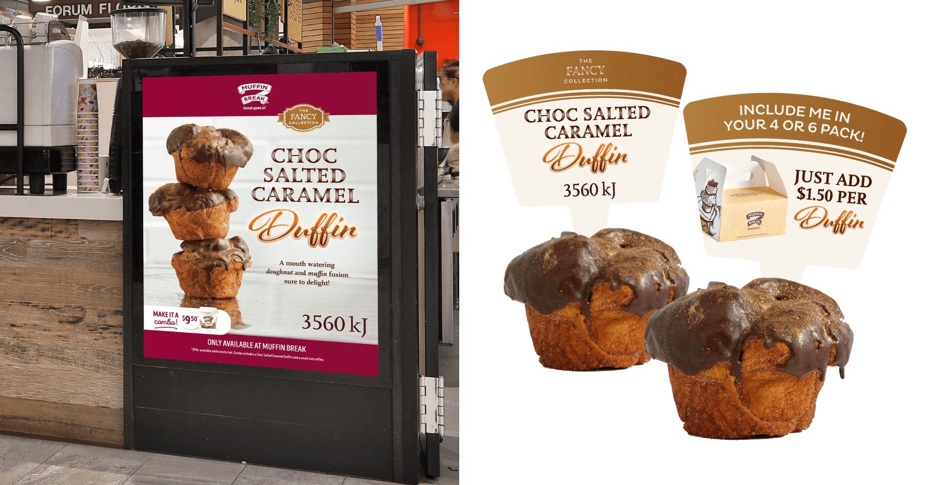 Putting on the Ritz! Our 'Fancy' New Designs for Muffin Break